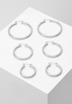 Pieces - PCSELINDA EARRINGS 3 PACK - Earrings - silver-coloured