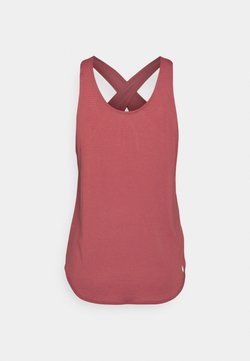 Nike Performance - BREATHE TANK COOL - Top - canyon rust/reflective silver