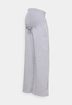 Missguided Maternity - STRAIGHT LEG PINTUCK - Jogginghose - grey marl