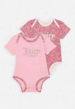 Juicy Couture - BABY JUICY LEOPARD 2 PACK - Body - rose quartz
