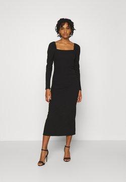 YAS - YASZALIA MIDI DRESS - Vestido ligero - black