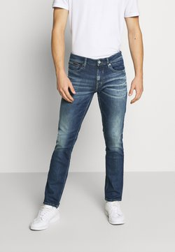 Tommy Jeans - SCANTON  - Slim fit jeans - wisconsin mid blue