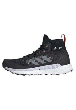 adidas Performance - TERREX FREE HIKER PARLEY BOOST - Obuwie hikingowe - black