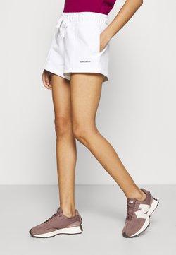 Calvin Klein Jeans - MICRO BRANDING - Shorts - white