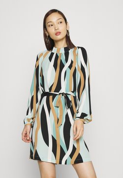 Vero Moda - VMMOLLY SHORT DRESS - Vestito estivo - jadeite