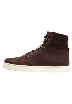 HUB - DUBLIN MERLINS - Sneakers hoog - dark brown/off white