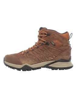 The North Face - M HEDGEHOG HIKE II MID WP - Schnürstiefelette - timber tan/india ink