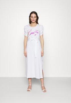 Liu Jo Jeans - ABITO UNITA - Vestido ligero - bianco ottico