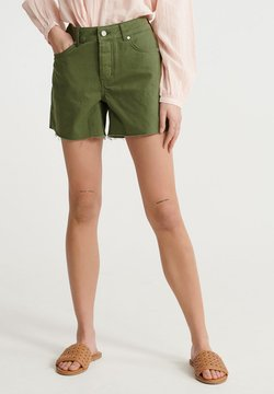 Superdry - Jeansshort - chive
