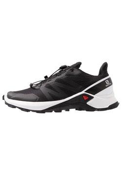 Salomon - SUPERCROSS MEN - Zapatillas de trail running - black/white