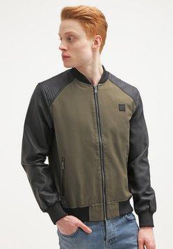 Urban Classics - Summer jacket - olive/black