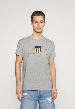 GANT - ARCHIVE SHIELD - T-shirt imprimé - grey melange