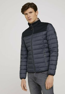 TOM TAILOR - HYBRID - Winterjacke - grey melange structure