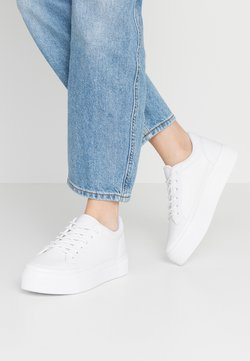Nly by Nelly - PERFECT PLATFORM - Sneakers laag - white