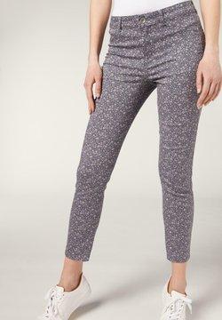 Calzedonia - Jeans Slim Fit - st. fiori grigi
