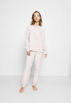 Dorothy Perkins - OATMEAL HOODED TWOSIE SET - Pyjama - oatmeal