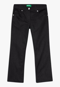 Benetton - TROUSERS - Bootcut jeans - black