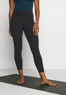 Sweaty Betty - SUPER SCULPT 7/8 YOGA LEGGINGS - Medias - black marl
