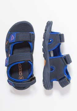 Kappa - EARLY II - Trekkingsandale - navy/orange