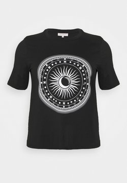 ONLY Carmakoma - CARLANDA - Camiseta estampada - black