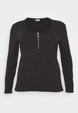 Noisy May Curve - NMELINA - Langarmshirt - black
