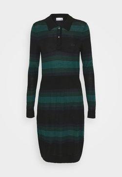Lacoste - Jumper dress - black/navy blue