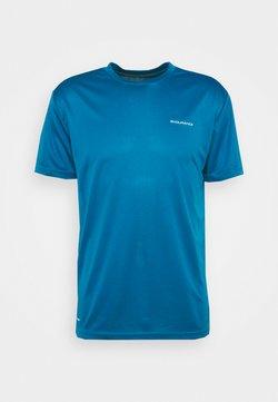 Endurance - VERNON PERFORMANCE TEE - T-shirt con stampa - mykonos blue