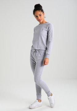 New Look - CREW NECK - Kombinezon - grey marl
