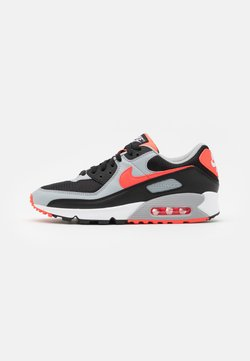 Nike Sportswear - AIR MAX 90 UNISEX - Baskets basses - black/radiant red-white/wolf grey