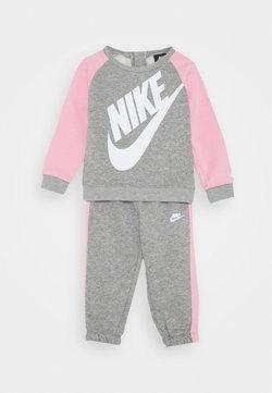 Nike Sportswear - FUTURA CREW SET - Sweater - dark grey heather