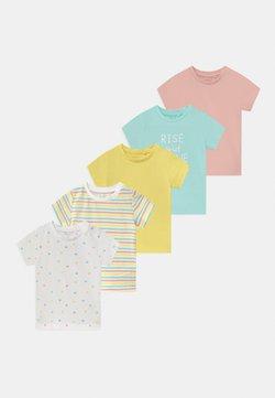 Name it - NBFBODIL 5 PACK - T-shirt print - limelight
