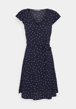 Anna Field Tall - Robe d'été - dark blue/white
