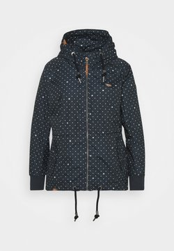 Ragwear Plus - DANKA DOTS - Manteau court - navy