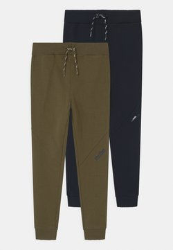 Name it - NKMBORGE 2 PACK - Jogginghose - dark sapphire/ivy green