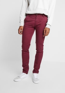 Tommy Jeans - SCANTON PANT - Chinot - burgundy