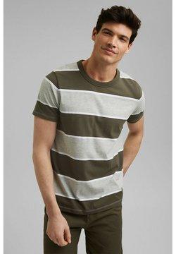 edc by Esprit - T-Shirt print - dark khaki