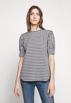 Bruuns Bazaar - SEER ADELAIA BLOUSE - Bluse - black/white