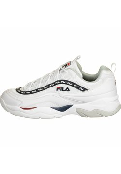 Fila - SCHUHE RAY MESH - Sneakers laag - white/fila navy