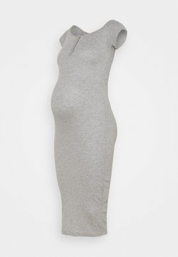 Missguided Maternity - BARDOT POPPE - Maxikleid - grey marl