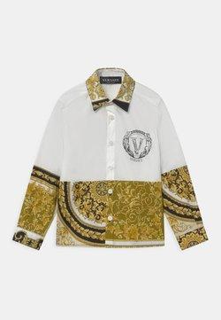 Versace - UNITED HERITAGE - Koszula - white/black/gold