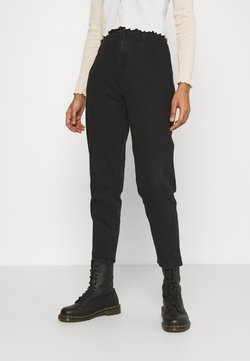 Levi's® - HOLLYWOOD WB HW TAPER - Relaxed fit -farkut - flash black washed