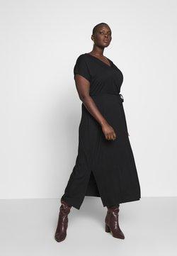 CAPSULE by Simply Be - WRAP MAXI - Długa sukienka - black