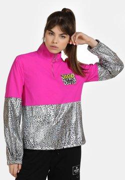 myMo ATHLSR - Leichte Jacke - pink silber leo