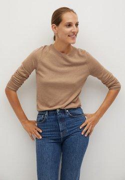 Mango - LUCAS - Sweter - medium brown