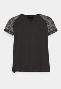 Vero Moda Curve - VMHEAN  - T-Shirt print - black