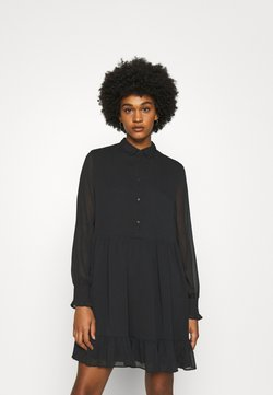 Tommy Jeans - TIERED LINE DRESS - Blusenkleid - black