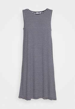GAP - SWING DRESS - Jerseykleid - navy