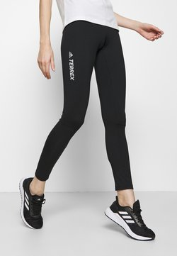 adidas Performance - AEROREADY X-COUNTRY SKIING LEGGINGS - Tights - black