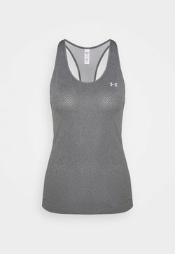 Under Armour - RACER TANK - Camiseta de deporte - pitch gray light heather