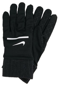 Nike Performance - HEATHERED SPHERE RUNNING GLOVES - Guantes - black/silver